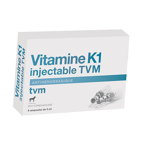 Vitamine K1 Injectable TVM 1