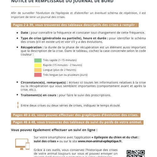 Journal de bord épilepsie TVM-2