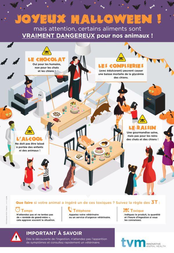 Poster Halloween et risques d'intoxications (à l'unité) 1
