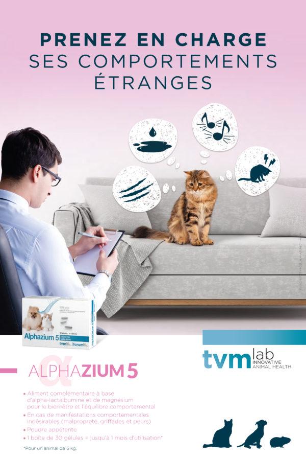Poster Alphazium chat (à l'unité) 1