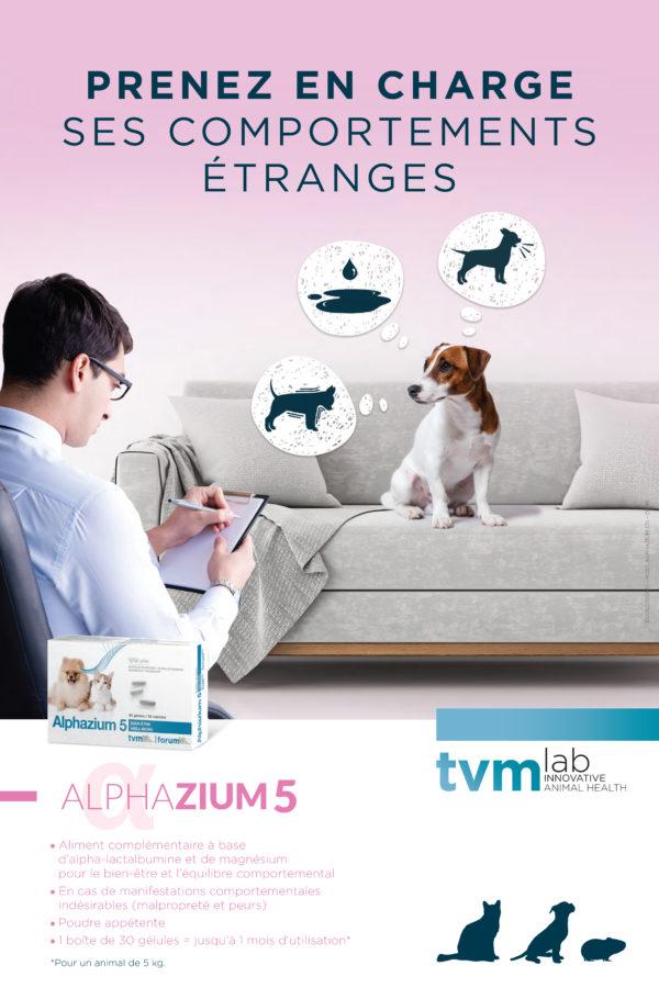 Dépliant Alphazium chien (unité : paquet de 25 ex) 1