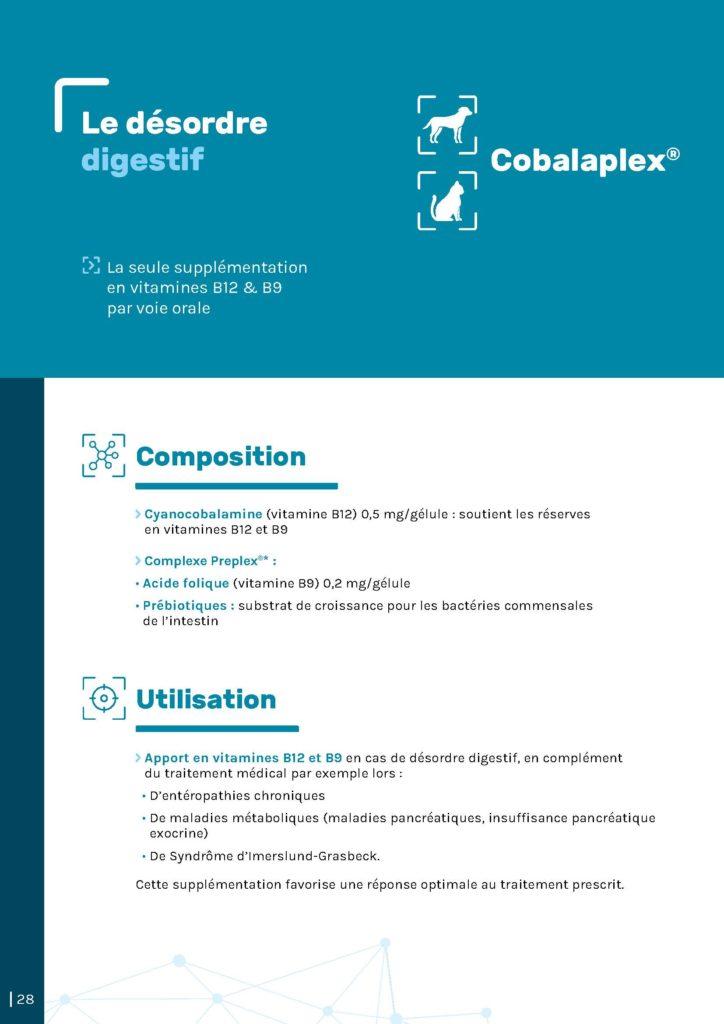 désordre digestif - Cobalaplex